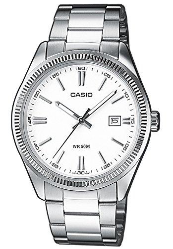 casio orologio analogico al quarzo uomo con cinturino in acciaio inox mtp-1302d-7a1vef