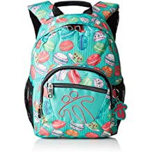 Totto Pencil - Mochila Infantil, Multicolor, 44 x 34 x 24 cm