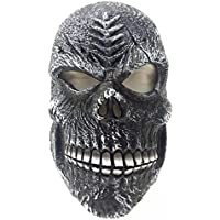 KooKen Cosplay Halloween Devil fantasma Masquerade maschera spaventosa (8*6.8 inch)