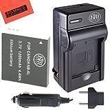 BM Premium NB6L NB-6L NB-6LH Battery and Charger Kit for Canon PowerShot S120 SX170 IS SX260 HS SX280 HS SX500 IS SX510 HS SX520 HS SX530 HS SX540 HS SX600 HS SX610 HS SX700 HS SX710 HS ELPH 500 HS D10 D20 D30 Digital Camera