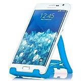Saxonia Tablet / Smartphone Stand - Ständer Tisch Halterung Universal Handyhalterung und E-Book Reader Blau