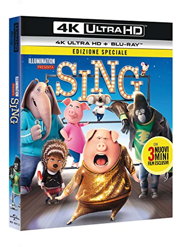 Sing (Blu-Ray 4K Ultra HD+Blu-Ray) [Import italien]