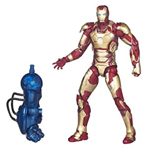 "Iron Man Marvel Legends Action Figure 6 inches / Iron Man Mark 42 (movie version of ""Iron Man 3"") (japan import)"