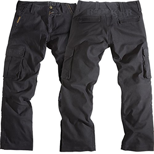 Rokker Motorrad Jeans, Motorradhose Black Jack Jeans schwarz 38/34, Herren, Chopper/Cruiser, Ganzjährig, Textil