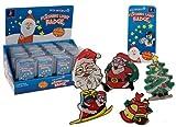 Weihnachten Leuchtend Marke/Brosche 6 Entwürfe verfügbar Auf. Diese ultra helle Aufleuchten Weihnachtsmarke ist ein ideales Ding, Ihre Ausrüstungen dieses Weihnachten zu begleiten. Die Marke kann an Ihren Weihnachtsparteien, Arbeitsgruppen ect getrag...