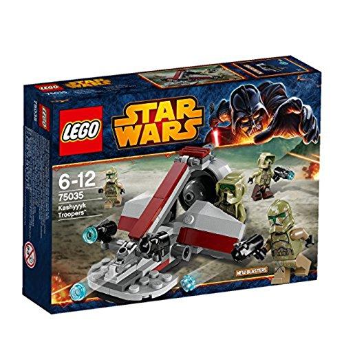 LEGO Star Wars 75035 - Kashyyyk - Wars Lego Troopers Clone Star