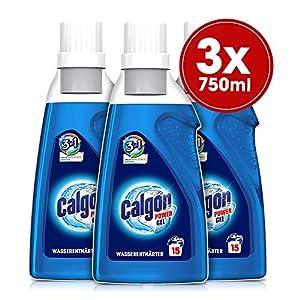 Calgon 3in1 Power Gel – Wirksam gegen Kalk, Schmutz und Gerüche – Schützender Wasserenthärter für die Waschmaschine