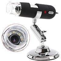 KKmoon 2MP 2 Mega Pixels 800X USB Microscope Numérique Endoscope Magnifier 8LED Chambre
