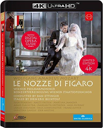 Mozart - Die Hochzeit des Figaro  (4K Ultra HD) [Blu-ray] (Avatar Hd)