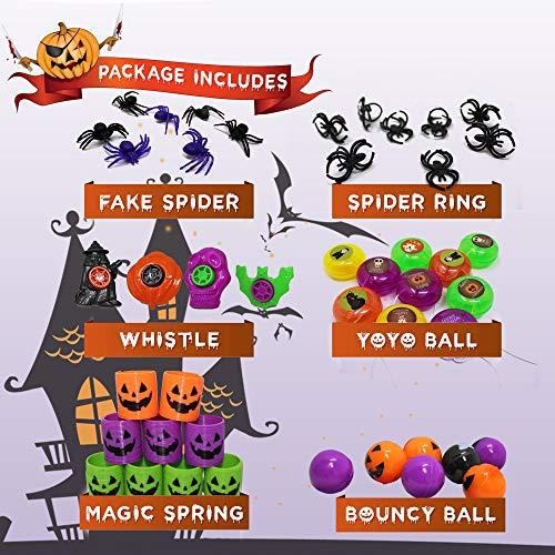 THE TWIDDLERS Set von 110 Halloween Thema Party Mitgebseln Scherzartikel - Perfekt für Partytaschenfüller - Pinatas - Geburtstag & Halloween Partys - Weihnachten Etc. - 3