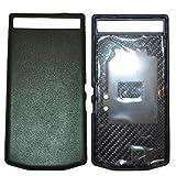 Blackberry 10271 PD Leder Batterie Door Tasche P`9982 Nappa schwarz