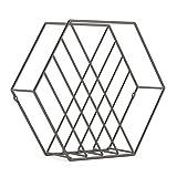 Umbra Zina ZEITSCHRIFTENSTÄNDER Metall Titan 33 x 33 x 7 cm