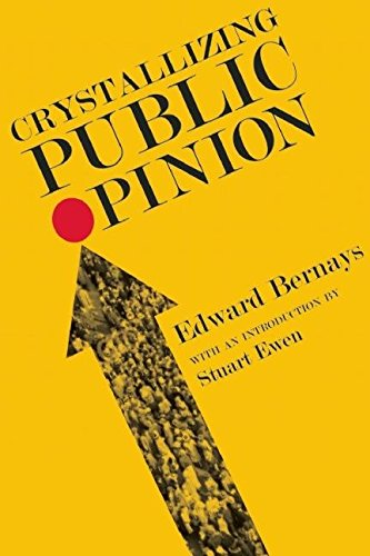 Crystallizing Public Opinion par Edward Bernays