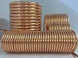 Spirale aus Kupferrohr 12x1mm weich aus 10m mit Ø ca. 13cm (Kupferrohrspirale)