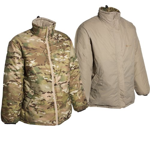 Snugpak Sleeka Reversible Jacket Crye Multicam & Desert Tan
