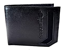 Moochies Genuine Leather Mens Wallet Color Black