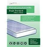 Colchón Carcasa Calidad Profesional–Single Standard/olor neutro Protección contra la humedad para hasta 1m ancho colchones