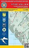 Otok Ugljan 1:25.000 Wanderkarte (Kroatien)