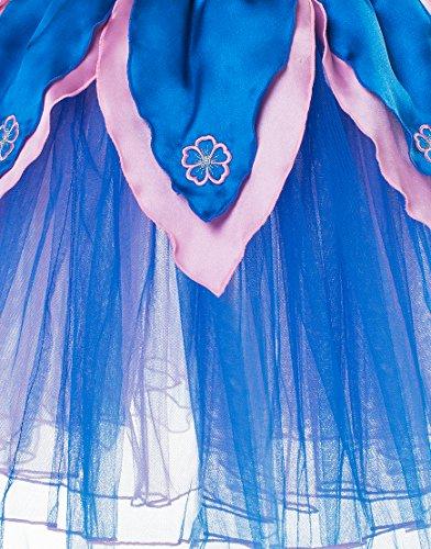 Imagen de dreamy dress ups 50451flores de pavo real tutú disfraz tamaño mediano  alternativa