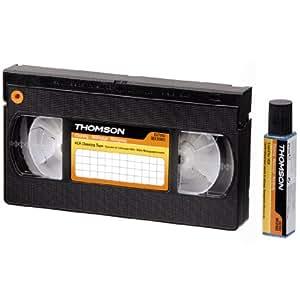 thomson clt202 cassette de nettoyage pour lecteur vhs. Black Bedroom Furniture Sets. Home Design Ideas