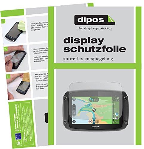 TomTom Rider 420 Schutzfolie - 3x dipos Displayschutzfolie Folie matt
