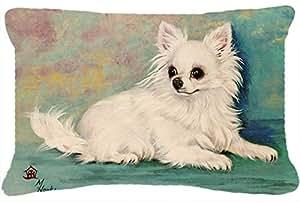 Chihuahua Queen Mutter Stoff Dekoratives Kissen mh1057pw1216