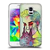 Head Case Designs Fluß Blinde Form Soft Gel Hülle für Samsung Galaxy S5 Mini