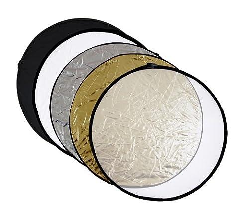 Reflecteur Pliable - meymoon panneau réflecteur argent ; noir ;or