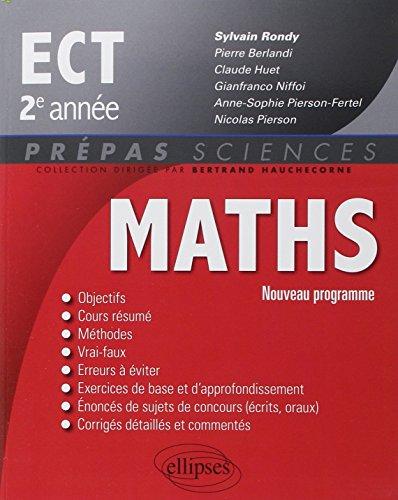 Maths ECT 2e Anne Programme 2015