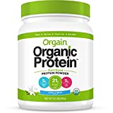 Orgain - Organic Protein Plant-Based Powder Vanilla Bean 1.02 Lbs