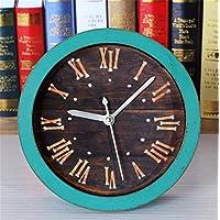 DIDADI Alarm clock Die Deluxe Continental Retro Stil nieten Alarm wenn Holz kreatives Studium Schreibtisch Uhren... preisvergleich bei billige-tabletten.eu