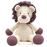 Handmade Baby Spieluhr gehäkelt Löwe