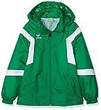 Erima Kinder Classic Team Regenjacke, Smaragd/Weiß, 152