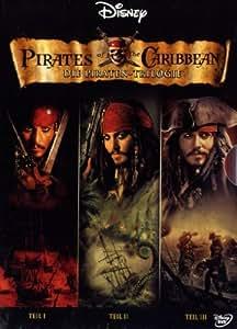 Fluch der Karibik - Teil 1-3 (3 DVDs)