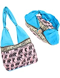 Stylish Women's Printed Shoulder Bag (Multi-colored) For Women / Girls / Ladies By Dfriend