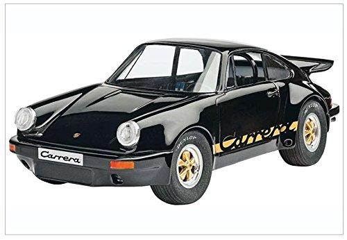 Revell Modellbausatz Auto 1:25 - Porsche Carrera RS 3.0 im Maßstab 1:25, Level 4, originalgetreue Nachbildung mit vielen Details, 07058
