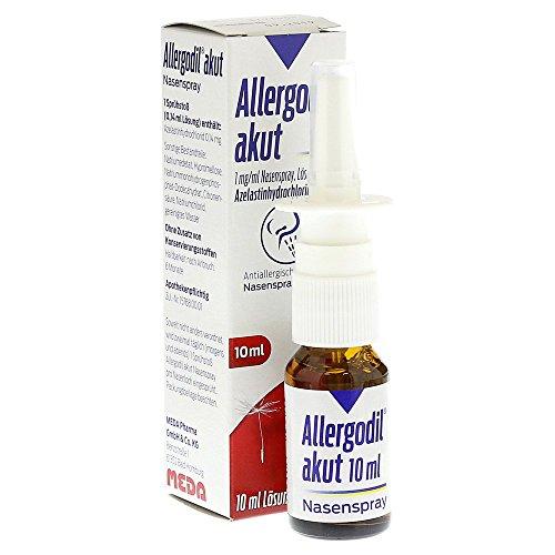 Allergodil akut Nasenspray, 10 ml Lösung