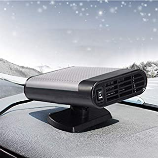MASO Portable Car Heater 12V 150W High Power Automobile Windscreen Heater Fast Heating Fan Defroster for Easy Snow Removal