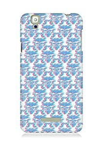 Amez designer printed 3d premium high quality back case cover for YU Yureka (blur pattern )
