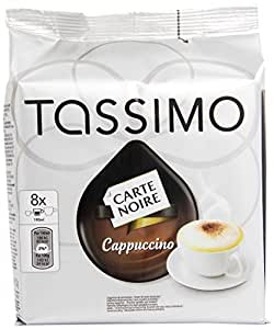 tassimo carte noire cappuccino 8 disc amazon pantry. Black Bedroom Furniture Sets. Home Design Ideas