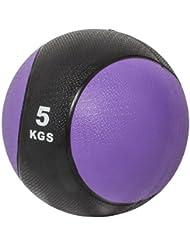 Gorilla Sports 10000339 - Balón medicinal ( 5 kg, entrenamiento de fuerza, más de 10 kg )