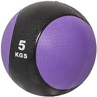 Gorilla Sports 10000339 - Balón medicinal (5 kg, entrenamiento de fuerza, más de 10 kg)