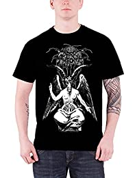 Darkthrone T Shirt Death Beyond Baphomet band logo offiziell Herren Schwarz