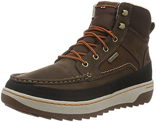 Viking Herren Blaze II Chukka Boots, Braun (Dark Brown), 45 (Dark Stiefel Viking Brown)