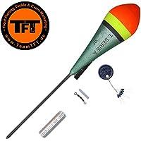 TFT Tremarella Set Shadow - Forellenpose zum Tremarellaangeln, Angelpose zum Forellenangeln, Posen für Forellen, Forellenschwimmer
