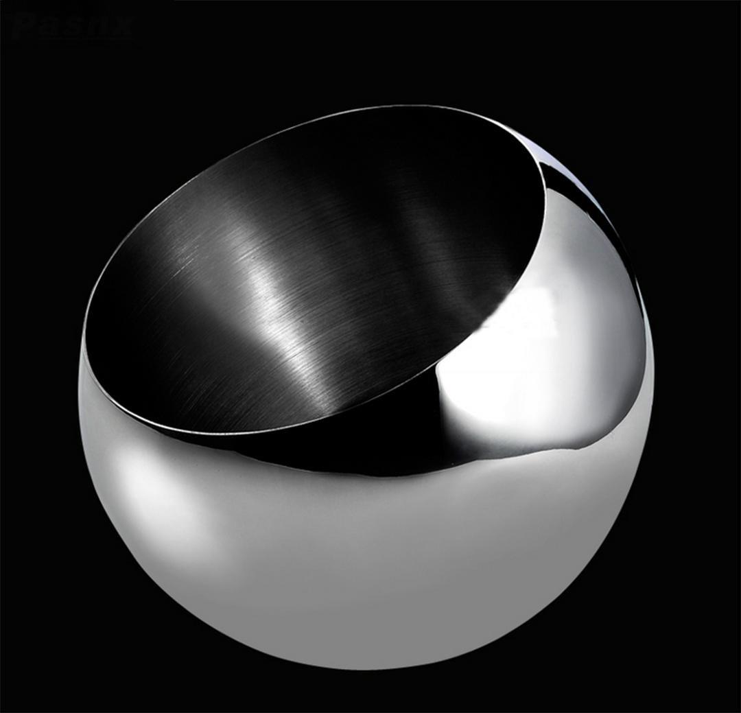 ZYT Kreative Edelstahl Obstschale multifunktionale schräge Tasse ...