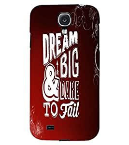 SAMSUNG GALAXY MEGA 6.3 DREAM BIG Back Cover by PRINTSWAG