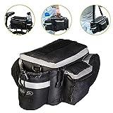 WOTOW Multifunktionale Fahrradtasche, auch als Schulter- und Handtasche verwendbar