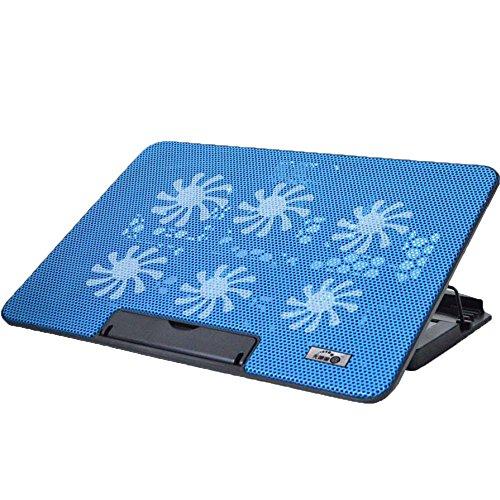 NQFL Laptop-Ständer GWDZX Desktop-Zervikale Wirbelsäule Büro-Computer-Racks Lift Tragbar Bracket Radiator Erhöhte Auflage,Blue-36*25.5*27cm