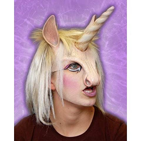 Mask Head Piece Unicorn with Horn by CC